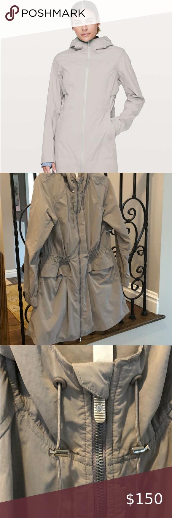 Lululemon Rain Rules jacket, size 6 in 2020 Jackets