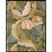 Wallpaper design by William Morris, from the Arts & Crafts movement in England, late 1800s.