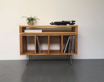stanton kleine plattenspieler stand vinyl schrank console wohnung pinterest. Black Bedroom Furniture Sets. Home Design Ideas