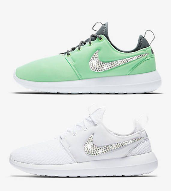 3b68a0b8b94d New blinged nikes Women s Nike Roshe Two blinged out with