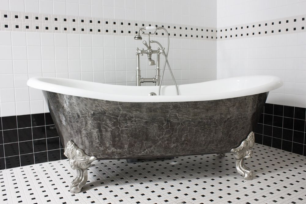 The Bridlington 73 Vintage Designer Burnished Cast Iron Clawfoot Master Bath Ideas