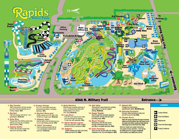 Rapids water park park map riviera beach fl rapids - Independence rv winter garden florida ...