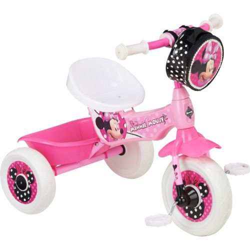 Huffy Girls Disney Minnie Mouse Trike Toddler Girl Gifts Tricycle Disney Girls