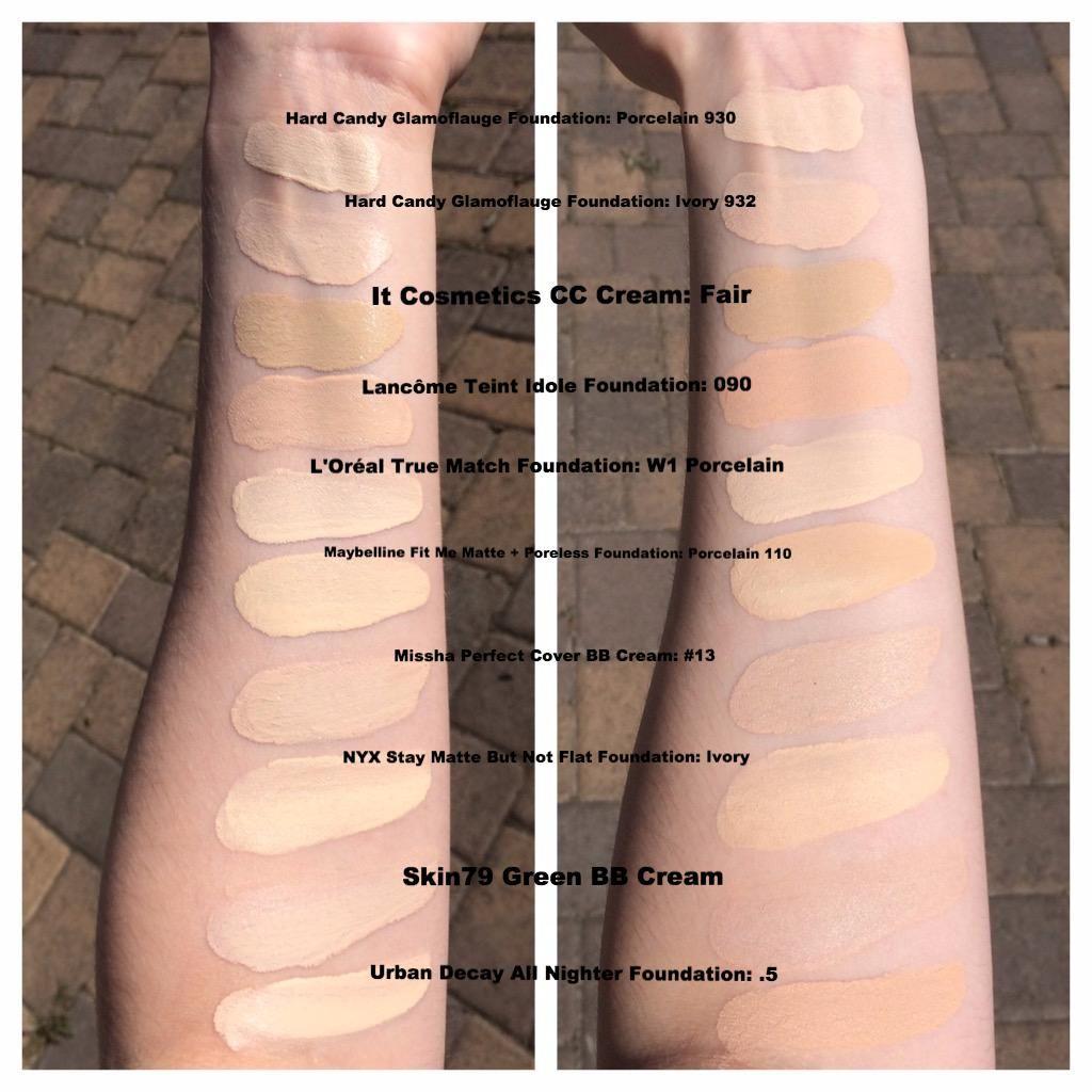 bb cream for pale skin