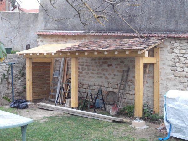 Bonjour Je me suis lance la semaine derniere dans la construction - Montage D Un Garage En Bois