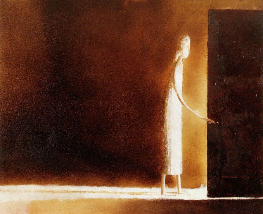 andrej zadorine open door painting96 painting