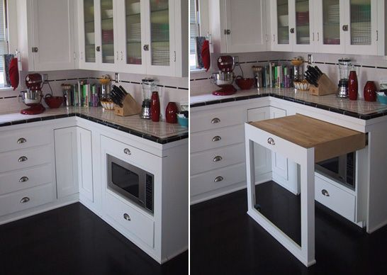 Version 2This is awesome! Great use of space for a small kitchen