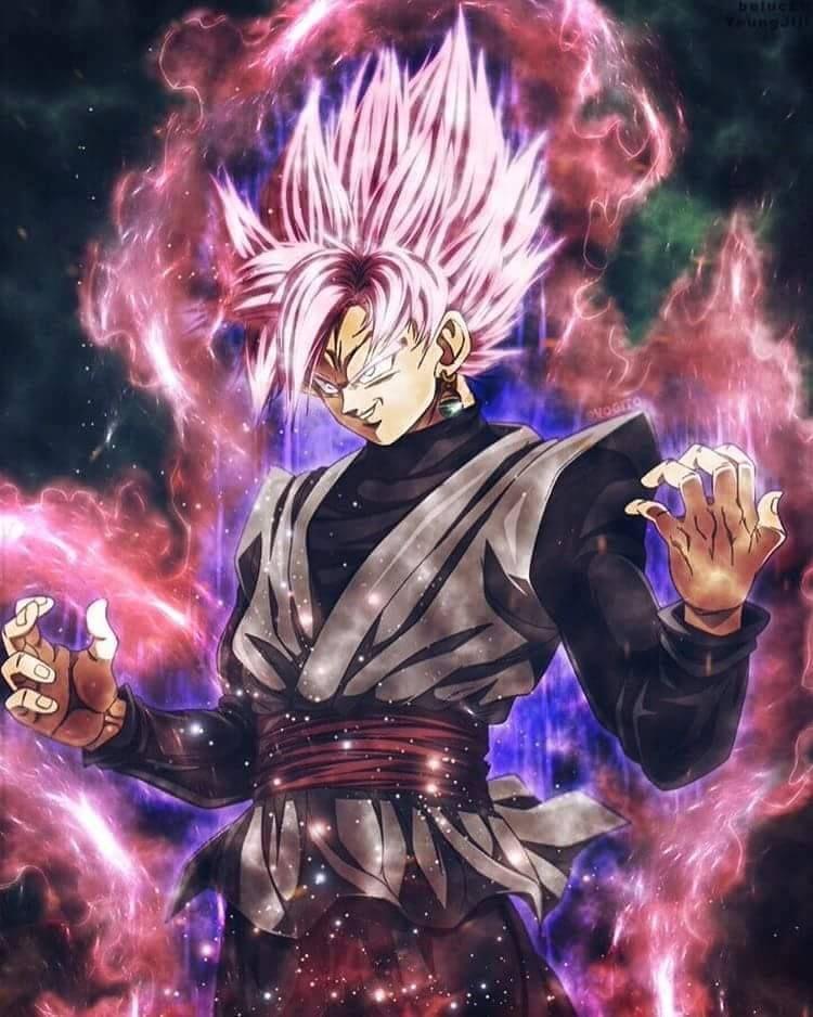 Goku black super saiyajin rose super saiyan rose - Super saiyan rose wallpaper ...