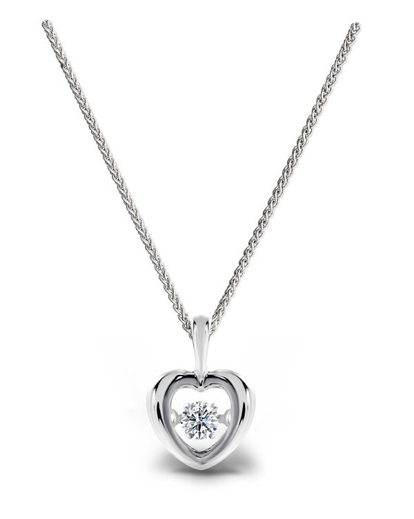Dancing diamond pendant heartbg 600752 simple diamond dancing diamond pendant heartbg 600752 aloadofball Gallery