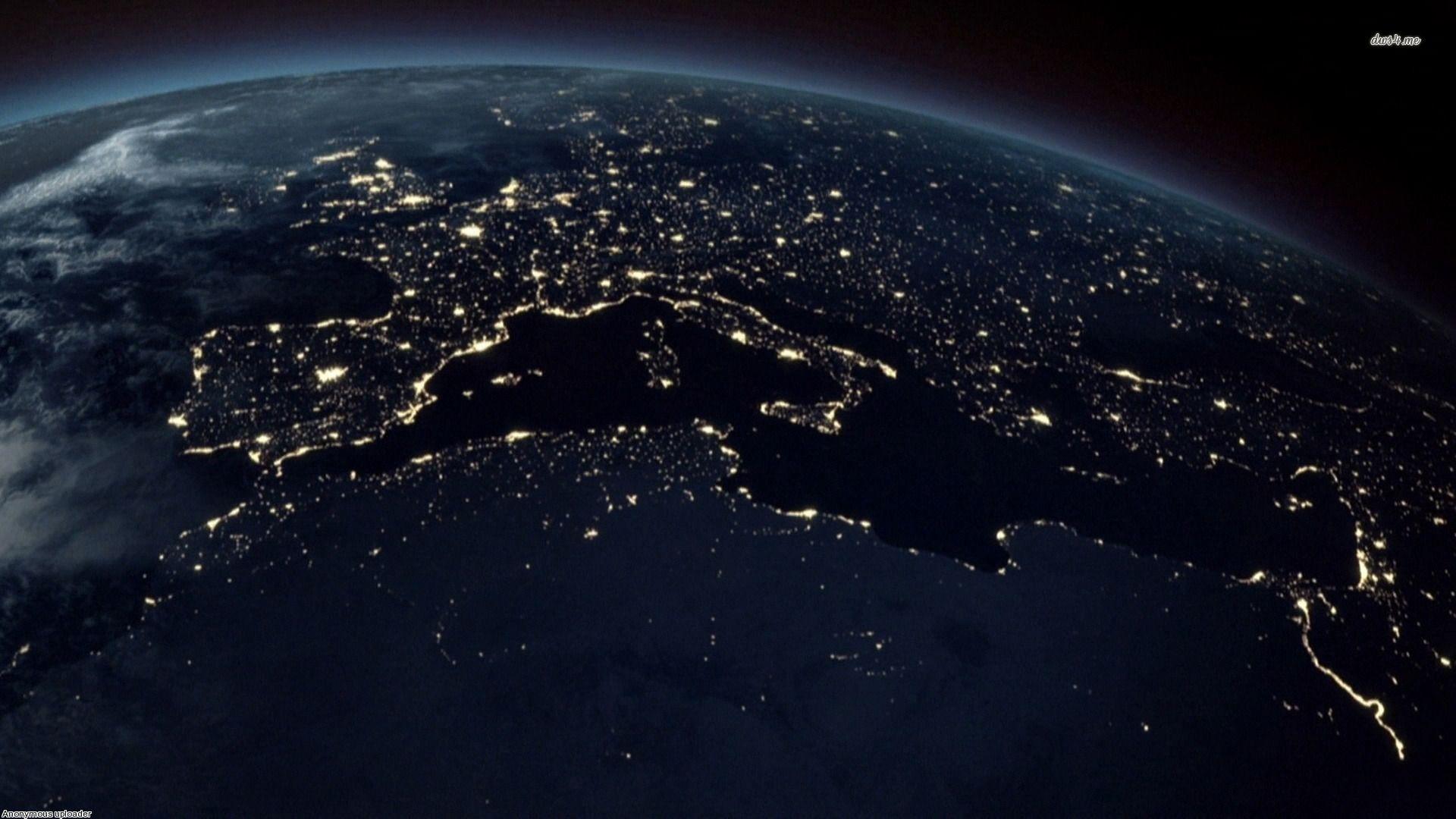 hd wallpaper cool earth backgroundscool at night desktop background ortevmgt