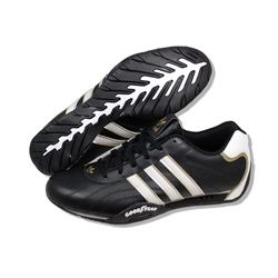 ADIDAS Men Adi Racer Low Goodyear in BlackWhiteGold. Style