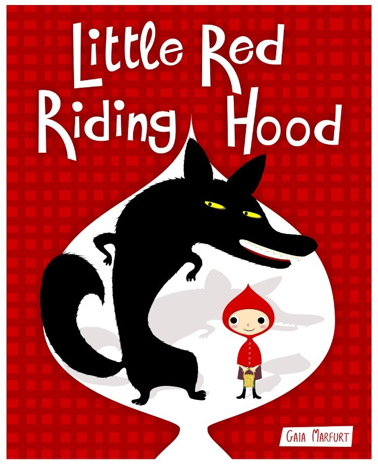 Little Red Riding Hood by Gaia Marfurt | cappuccetto rosso ...