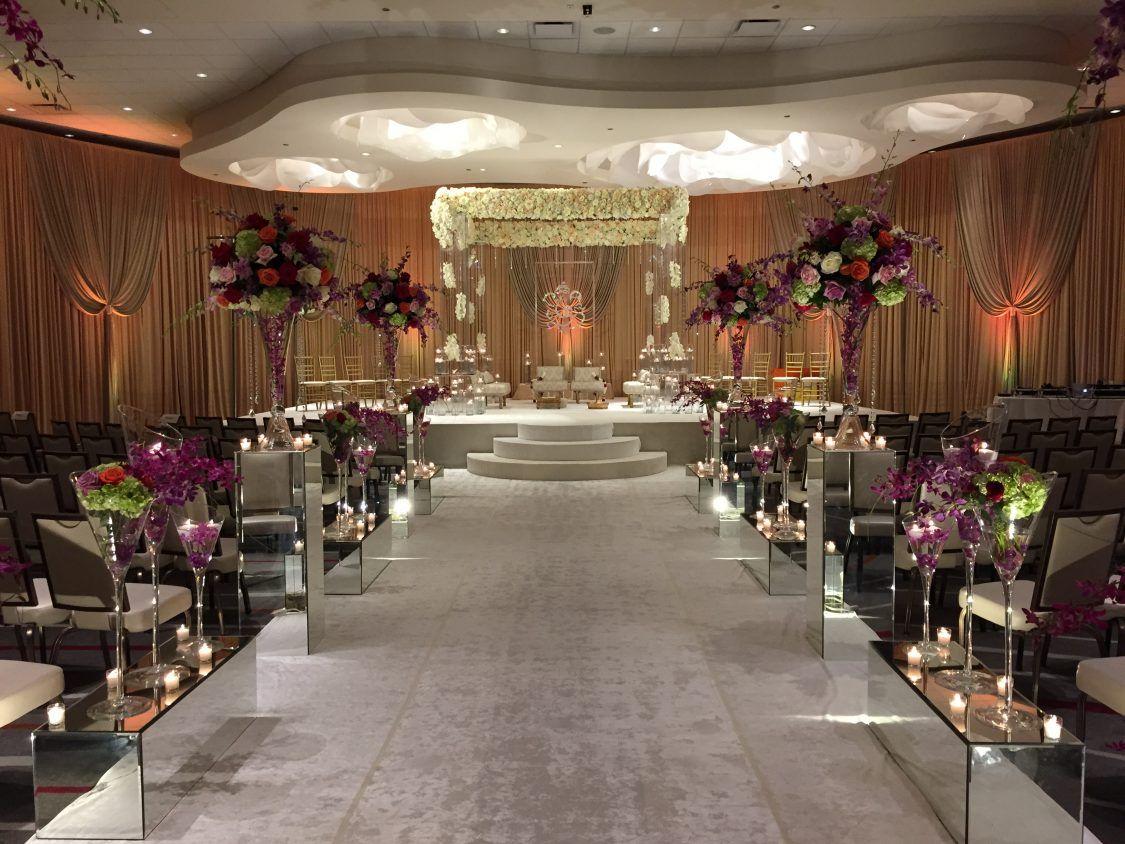 Loews Chicago O'Hare Hotel | Wedding venue decorations ...