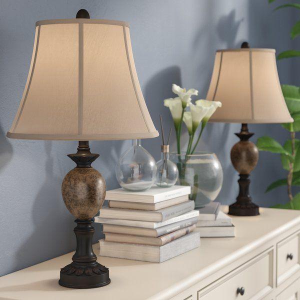 Wayfair Table Lamps >> Alcott Hill Bulmershe 25 Table Lamp Reviews Wayfair