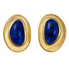 Angela Cummings for Tiffany & Co Black Opal Earrings