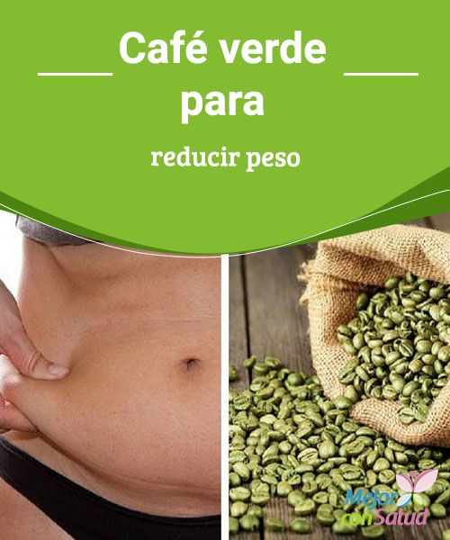 Es bueno el cafe verde para adelgazar