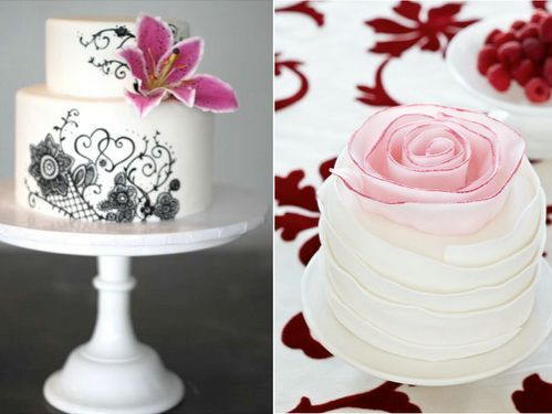 Wedding Cakes Ideas With Small Designs | Designs | Pinterest ...