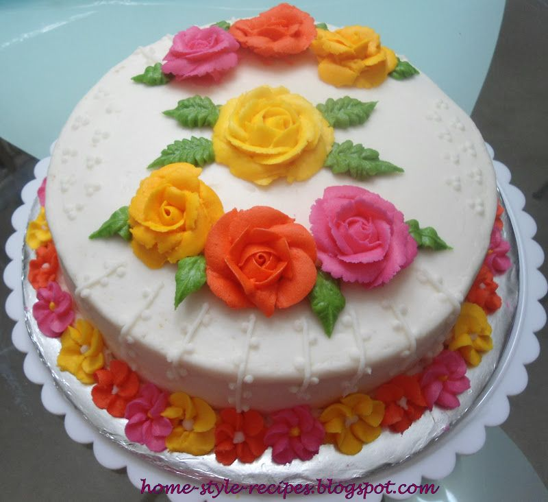 decorating basic cakes   Share A Recipe  Wilton Decorating Basics     decorating basic cakes   Share A Recipe  Wilton Decorating Basics   Course 1