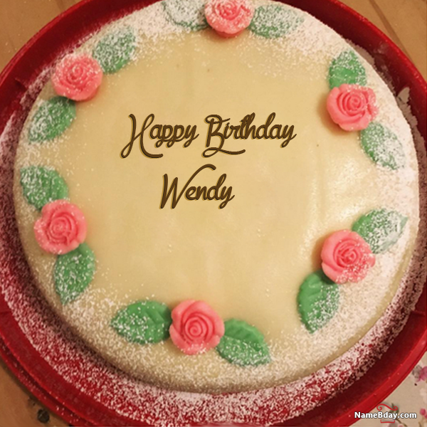Happy Bday Image Wendy Happy Birthday Cake Girl Happy
