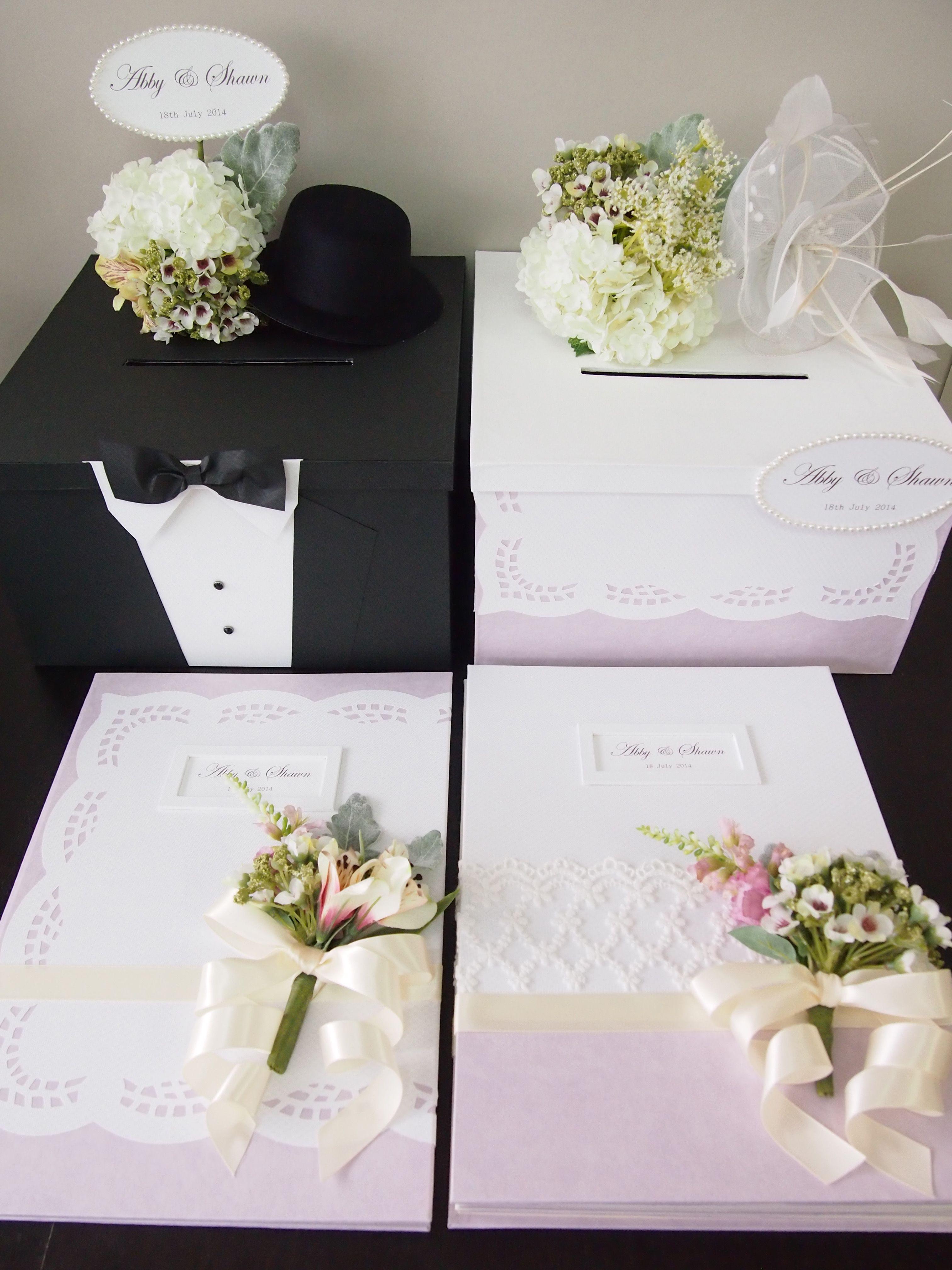 pegeo wedding set  money  gift cards box set for bride