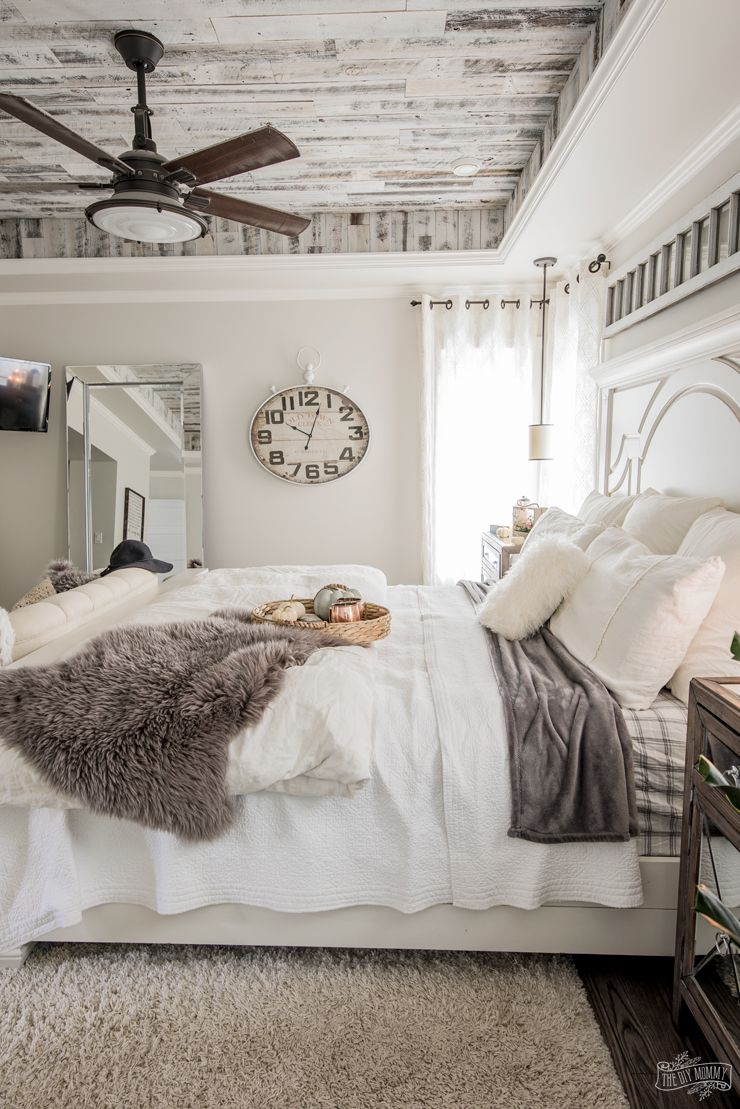 Hygge Bedroom Tour The Diy Mommy Home Decor Bedroom Fall