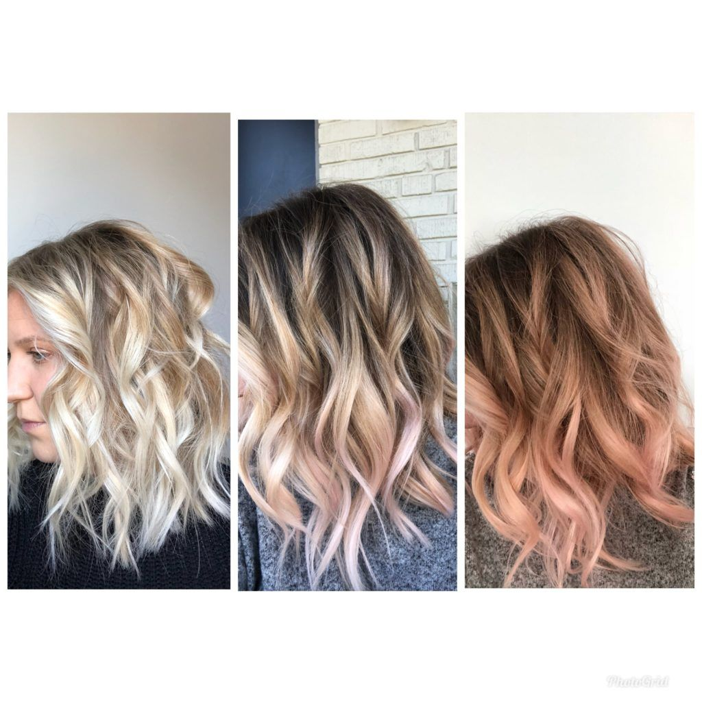 Review Of The Kristin Ess Rose Gold Temporary Tint Hair Color