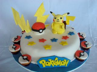 torta pokemon le torte di isabel pinterest. Black Bedroom Furniture Sets. Home Design Ideas