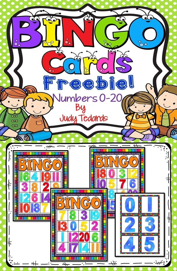 FREE Number BINGO for Numbers 1-30 - This Reading Mama