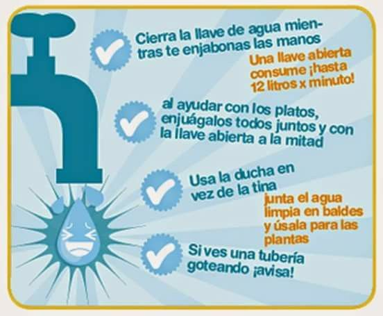 Cierra La Llave Del Agua Save Planet Earth Save Water Poster Water Projects