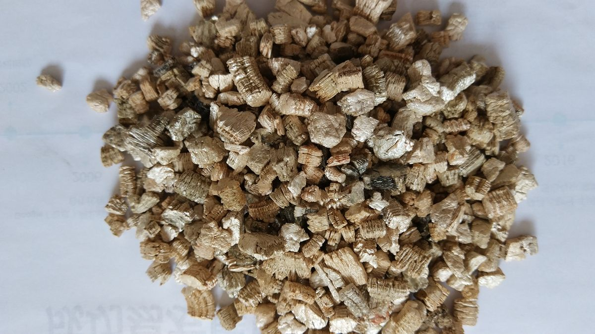 Vermiculite used for a component of the interior fill for firestop ...