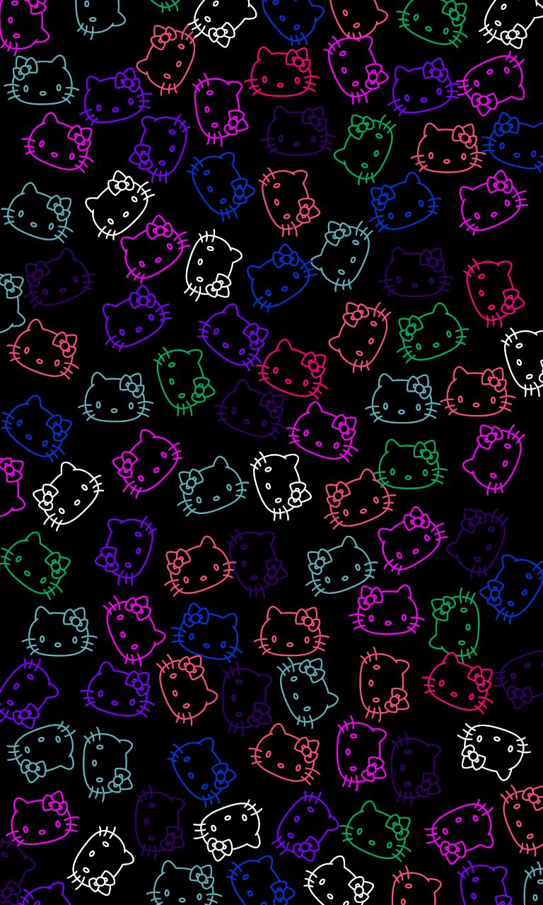 Beautiful Wallpaper Hello Kitty Neon - e5f905e716fd64429be5f1d38e0ebc94  Picture_464579.png
