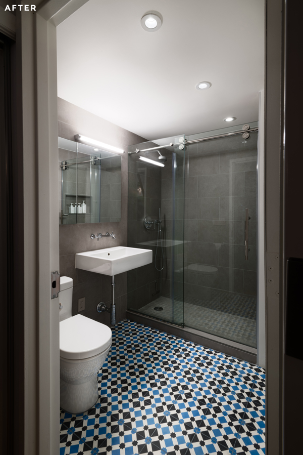 Delightful Before And After: Brooklyn Bathroom Renovation