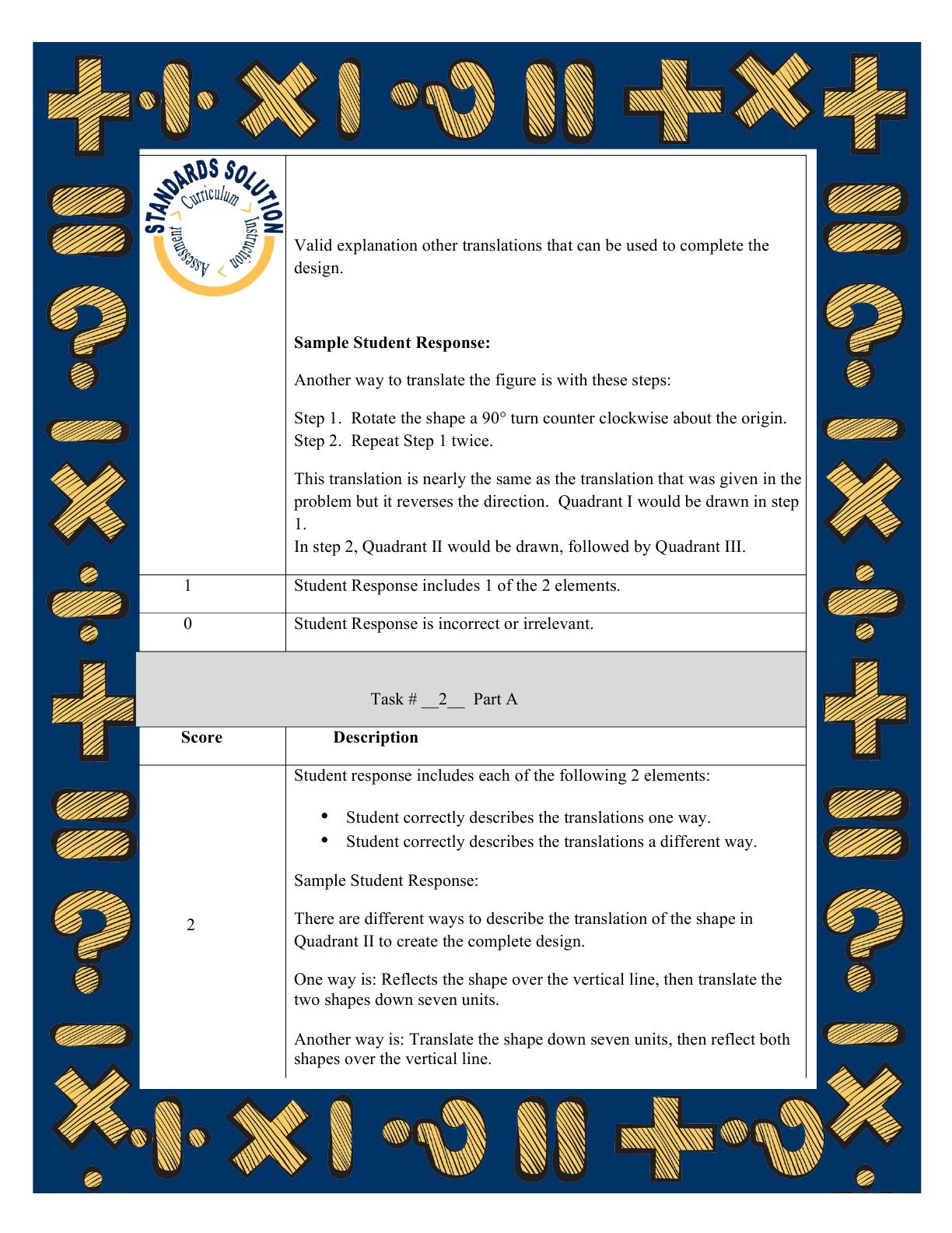 parcc 8th grade math lesson plan samples pg 8 parcc 8th grade math