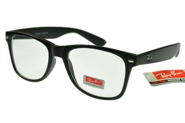 1c0818f6f0 Ray-Ban Wayfarer 2140 Black Frame Transparent Lens RB87 | FOR HIM ...