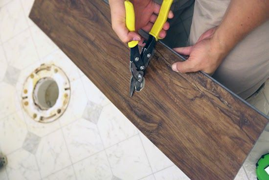 Tricky Rubber Flooring For Bathrooms Or High Moisture Areas