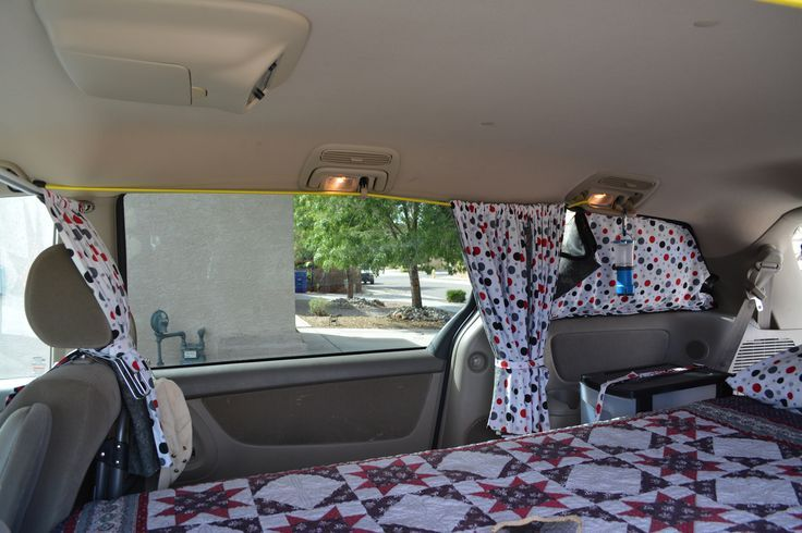 Make Van Curtains Sienna Google Search Van Minivan