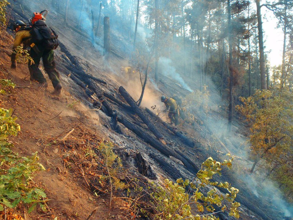 Hotshot terrain, an example of what makes a Hotshot Wildland Firefighter stand out.