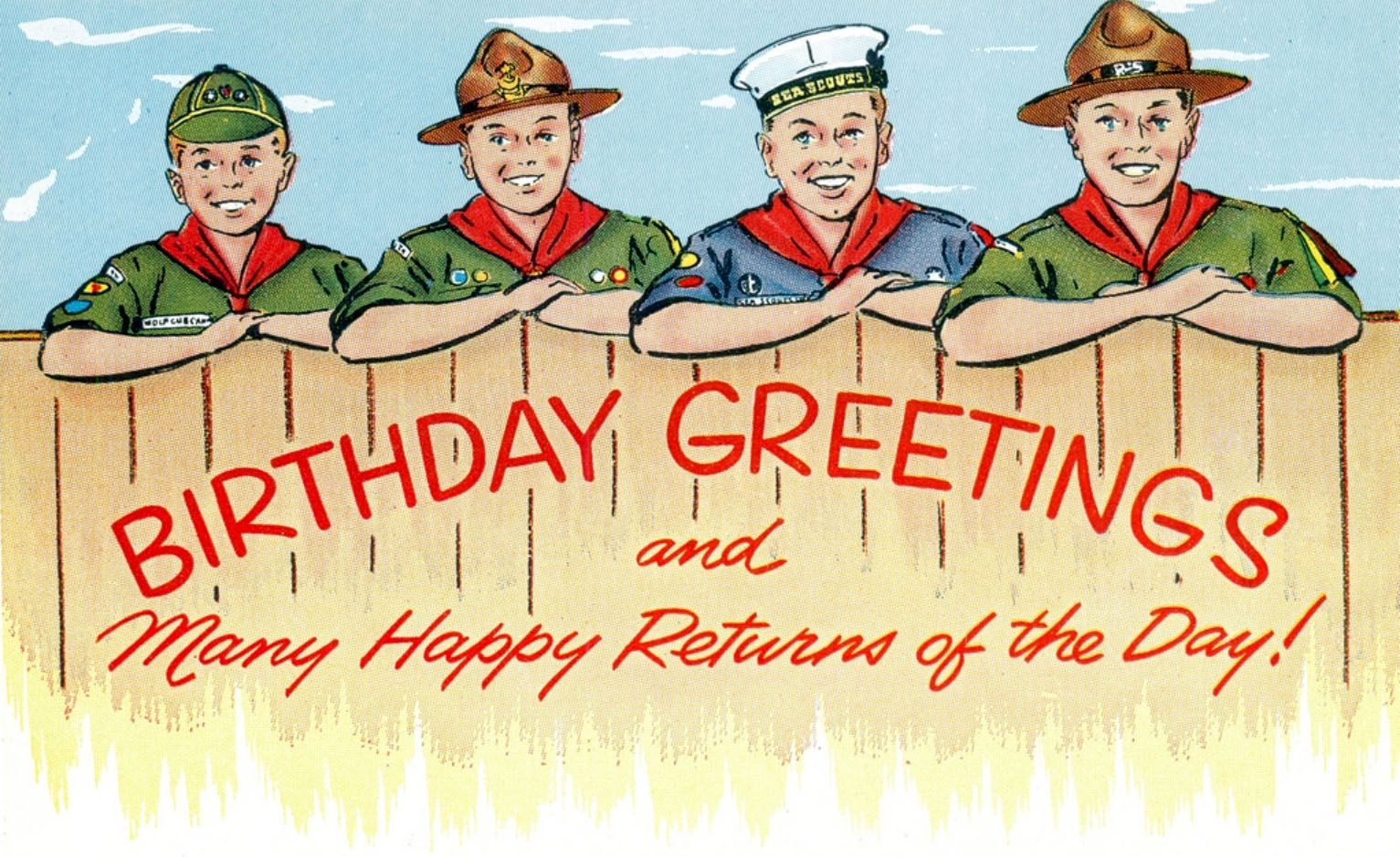 Baden Powell S Birthday Is February 22nd Birthday Wishes And Images Birthday Greetings Birthday Wishes