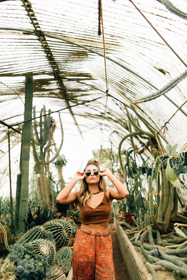 See You in the Desert: A Fashion Girls Guide to Palm Springs #botanicgarden