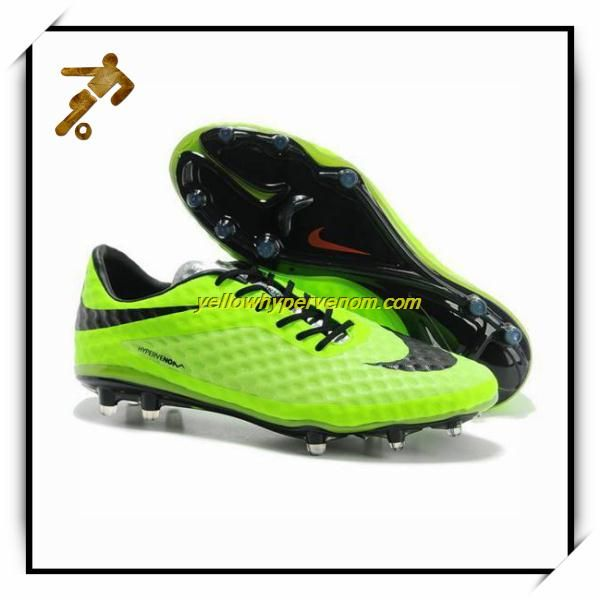 New Nike Hypervenom FG Fluorescent Green Drogba Football Shoes
