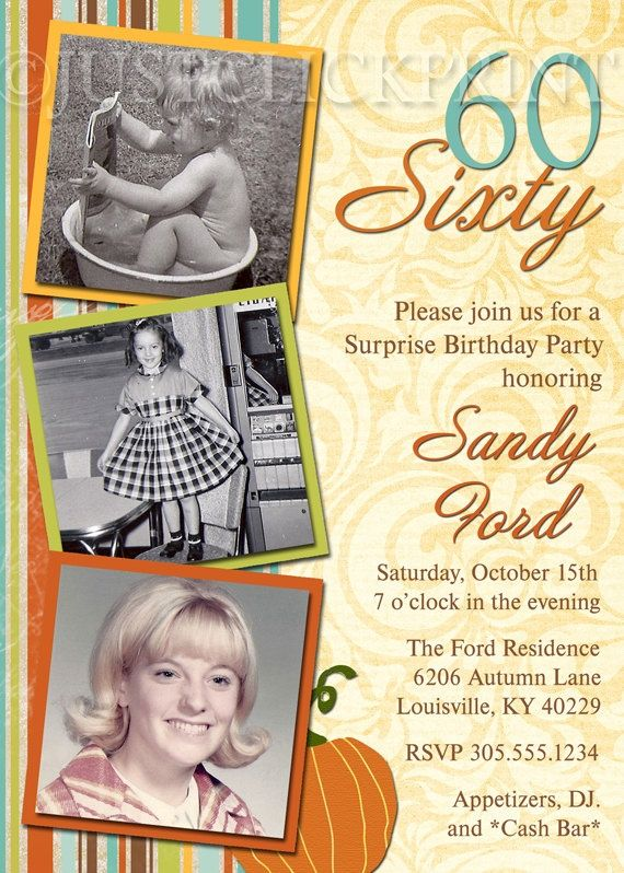 Image result for 60 Th Anniversary Party Ideas Pinterest - sample invitation wording for 60th birthday