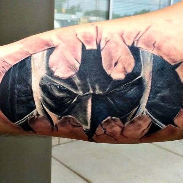 28 Batman Tattoos For Batman Day Batman Tattoo Marvel Tattoos Comic Tattoo