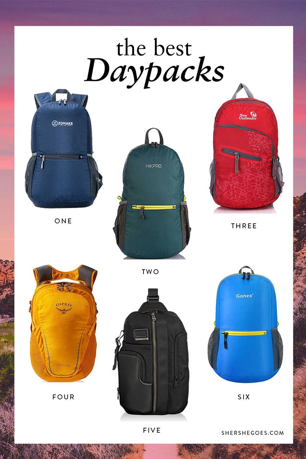 The best six backpacks for your next trip!