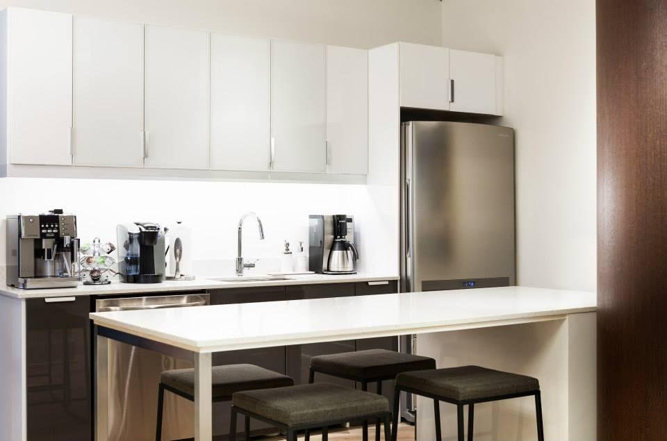 OliverMcMillan Houston Office   Kitchen cabinets, Home ...