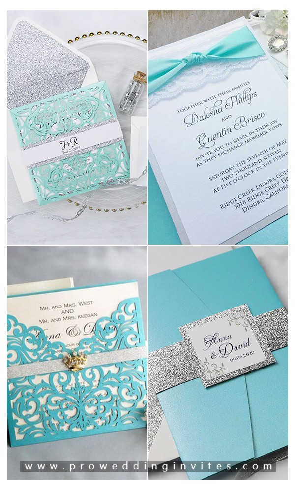 Ideas On How To Plan A Tiffany Blue Theme Wedding Tiffany Blue Wedding Invitation Tiffany Blue Wedding Theme Nautical Wedding Invitations