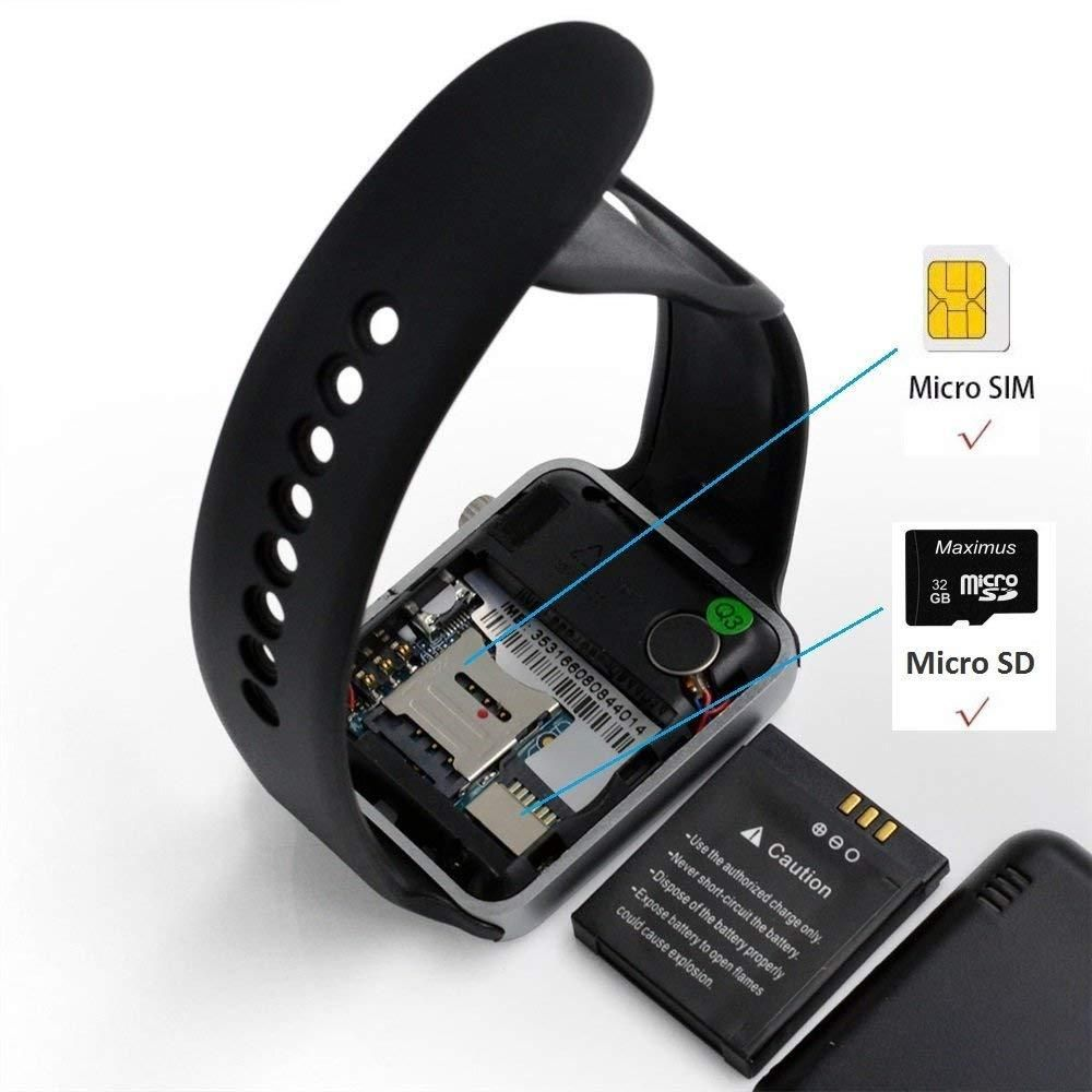Naiku a1 smart watch with passometer camera sim card