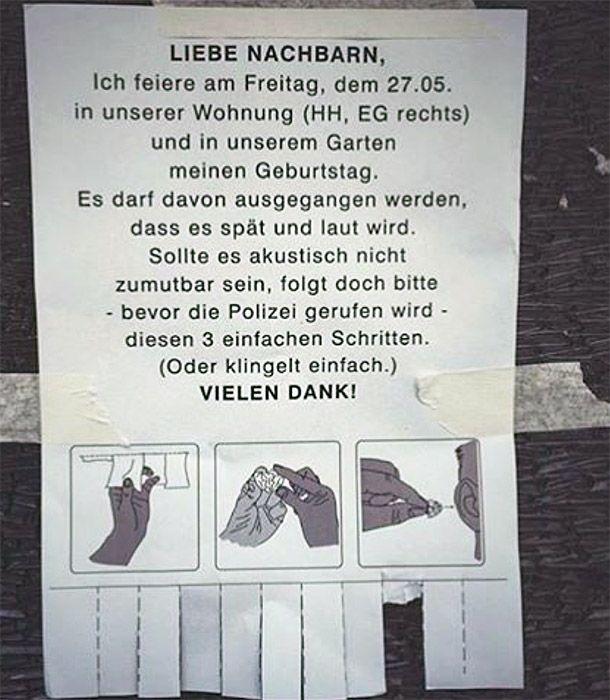 Notes Of Berlin Liebe Nachbarn Lustig Lustige Zitate Und Spruche