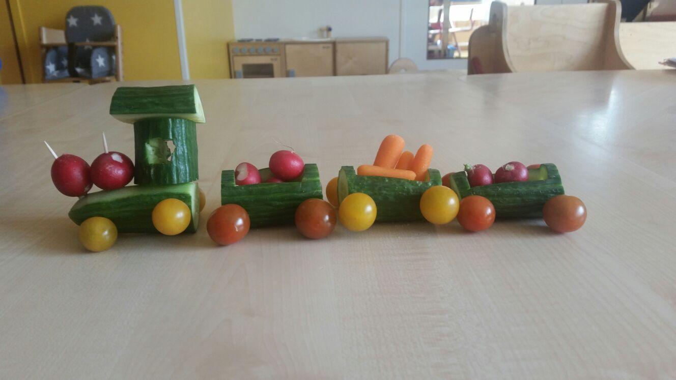 Traktatie van een jarige bij kinderdagverblijf De Geldershof