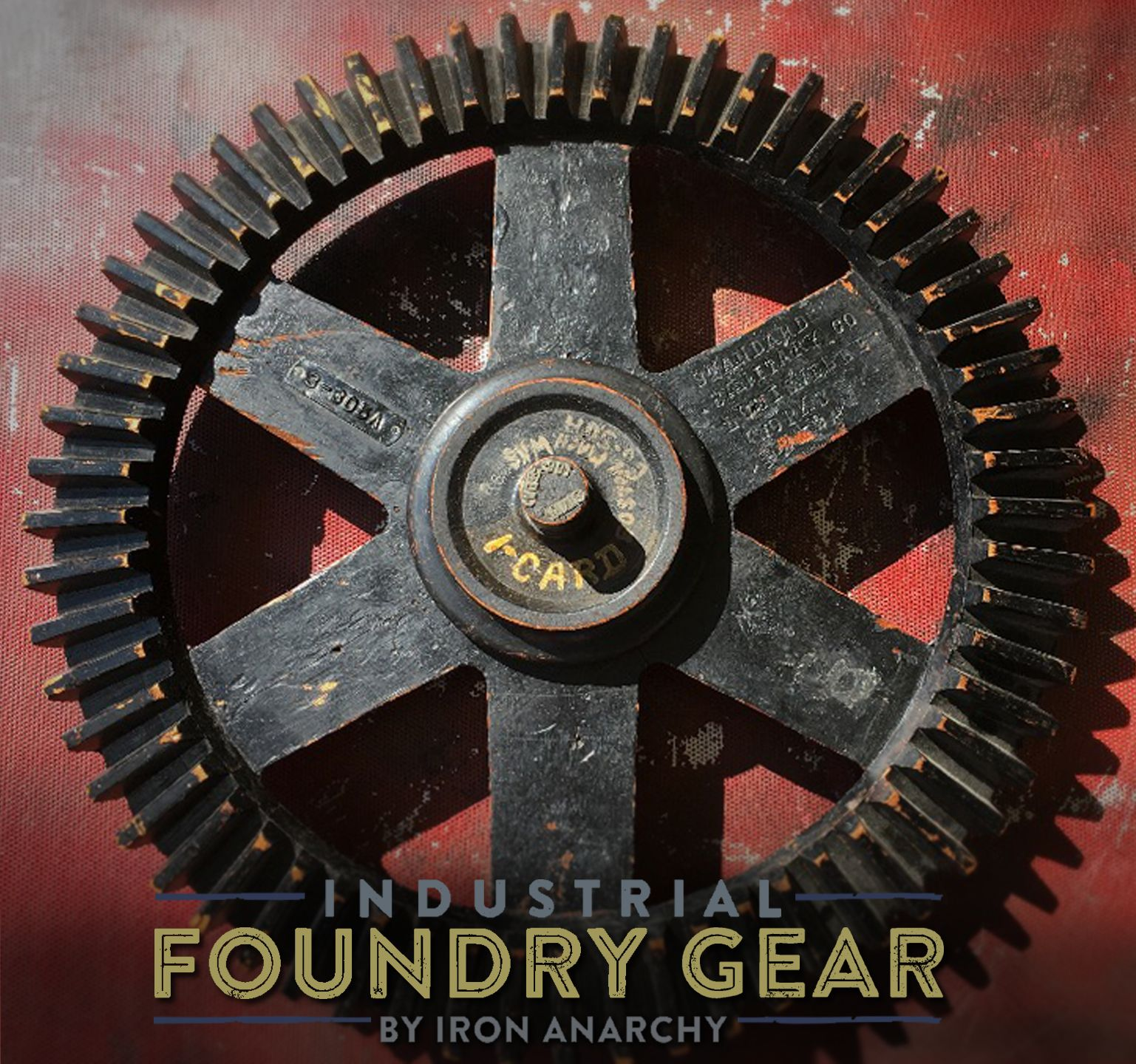 25 Industrial Foundry Gear Pattern Wooden Bevel Gear Model With Stamped Id And Metal Tags From Ironanarchy Com Lightw Chic Wall Art Vintage Industrial Gears