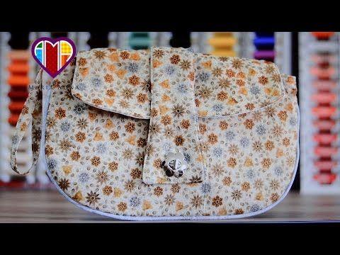 Bolsa carteira em tecidos Lark - Maria Adna Ateliê - Aulas e cursos de bolsas e carteiras em tecidos - YouTube